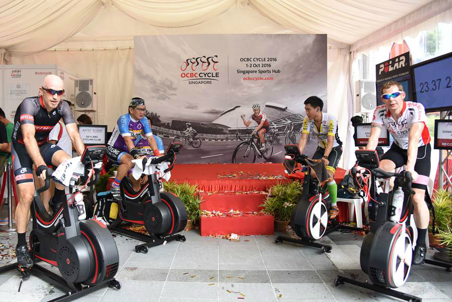 These cyclists participated in the endurance challenge. (Photo Credit: OCBC Cycle 2016)