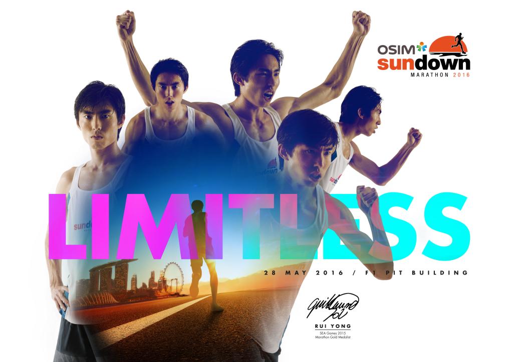 National marathoner Soh Rui Yong will be the OSIM Sundown Marathon ambassador. [Photo by Sundown Marathon]