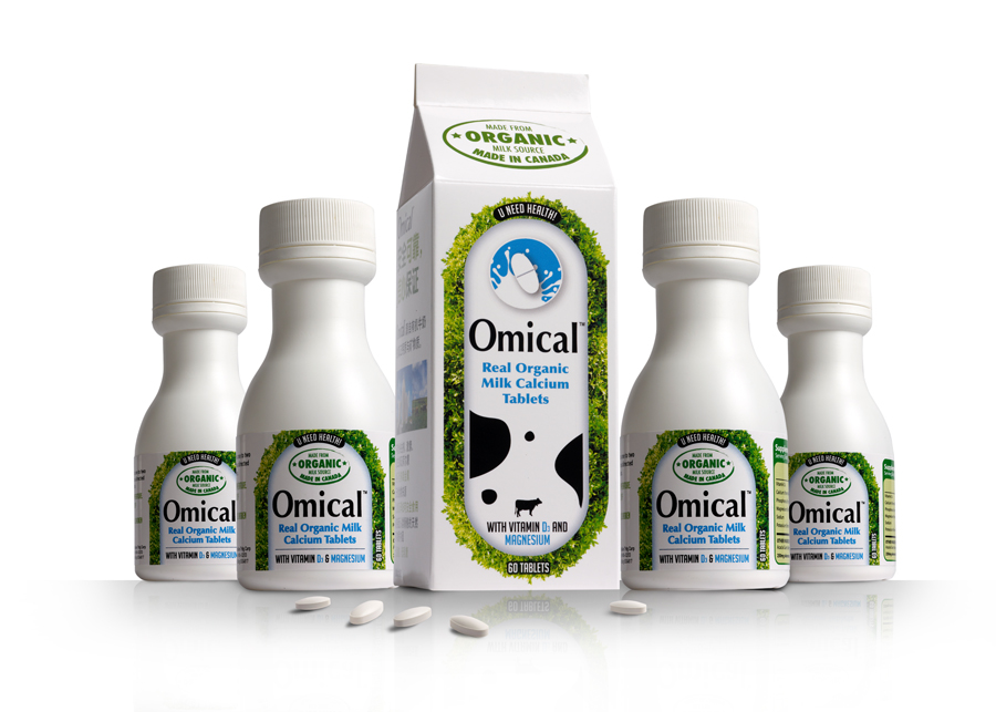 OMICAL is a calcium supplement... with a healthy difference.