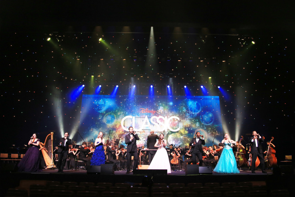 Orchestra and singers at a Disney on Classic performance in Japan. Photo by: Disney on Classic.