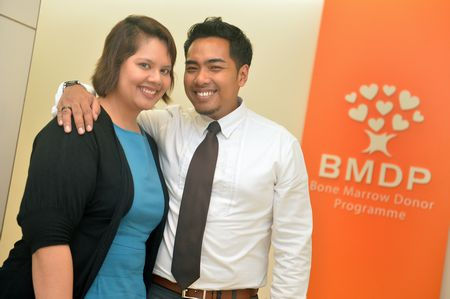 Faizah & Farhan participate in the Bone Marrow Donor Programme. Credit: Faizah & Farhan.