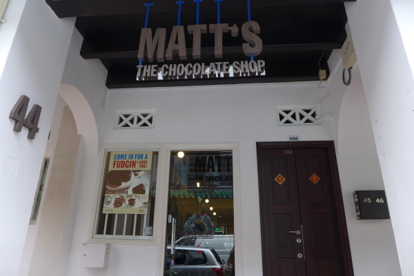 Matt's the Chocolate Shop @ Amoy Street.