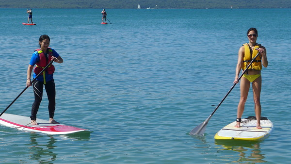 Summer is a great time to engage in water sports, such as Stand Up Paddling.