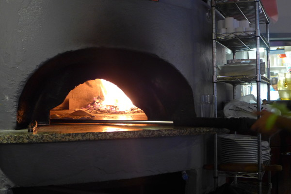 The Wood Fire Oven @ the restaurant.