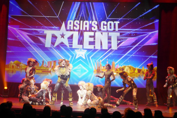 Jellicle cats come out tonight, on Asia's Got Talent.