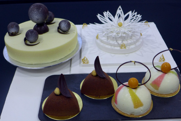 Another peep at the designs concocted by participants from the Singapore Bakery and Confectionary Championships.