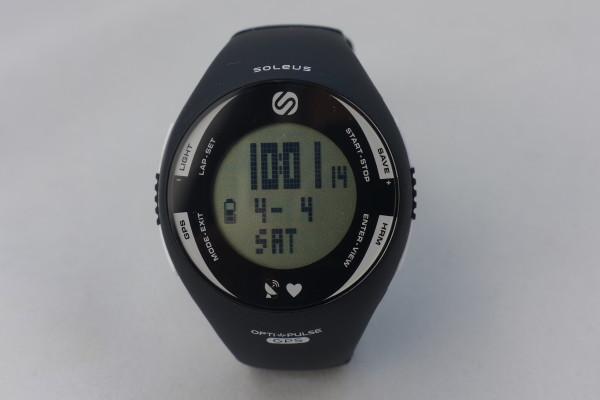 The Soleus GPS PULSE running watch.