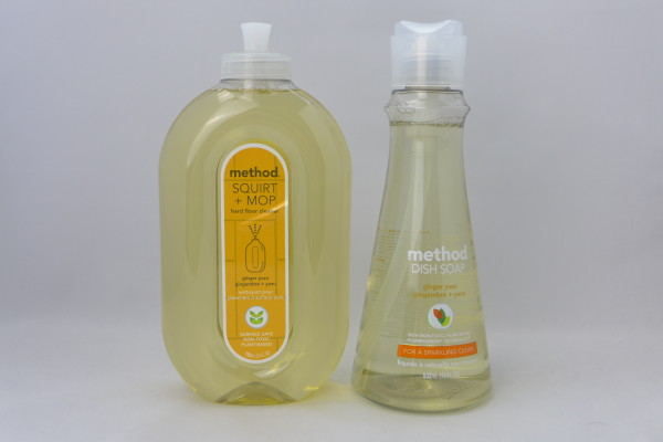 Method has a new range of Ginger Yuzu flavoured cleaning products.