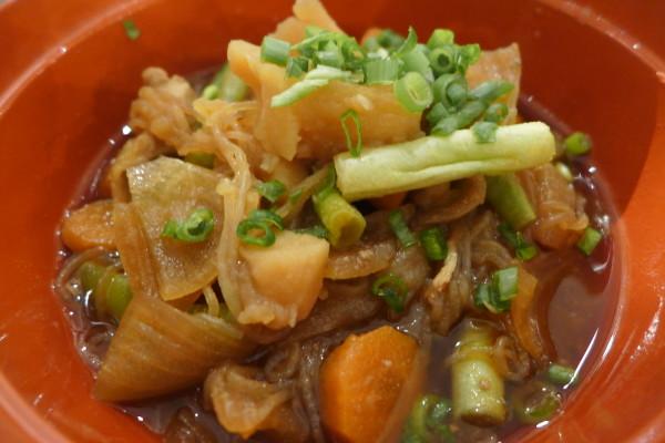 Pork & Potato Stew.