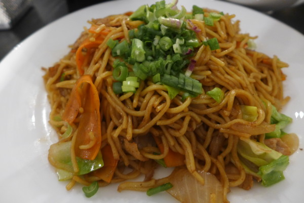 YakiSoba noodles.