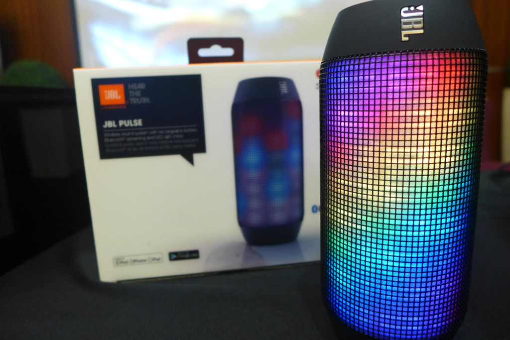 Colourful Pulse II speaker works in tandem to the music it's playing.