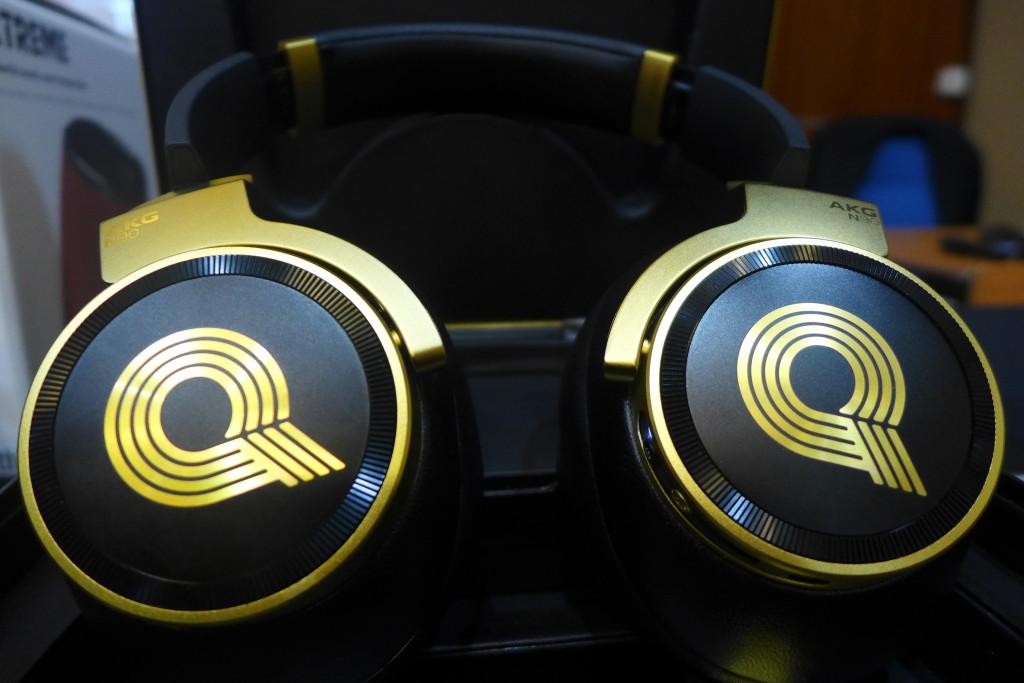 AKG N90Q luxury earphones.