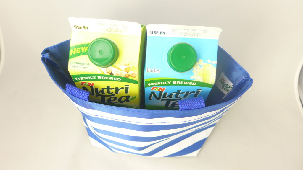 Get a free tote bag when you buy F&N NutriTea.