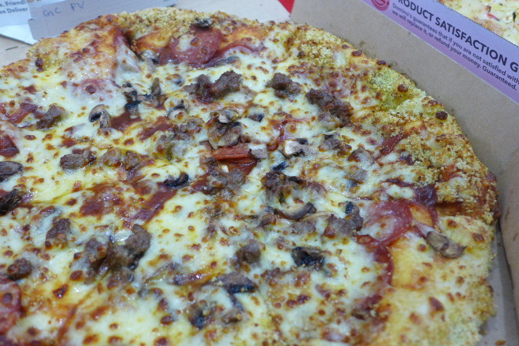 Order two regular pizzas for SGD22.00.