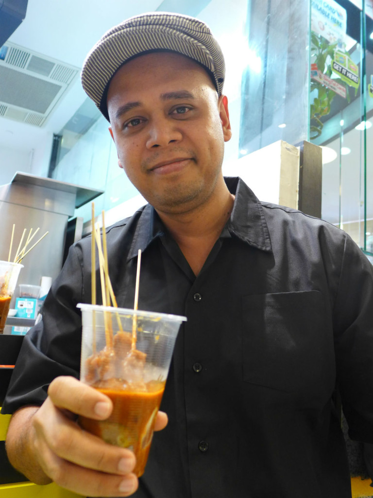 Mr Sha, owner & founder of Superpower Satay.