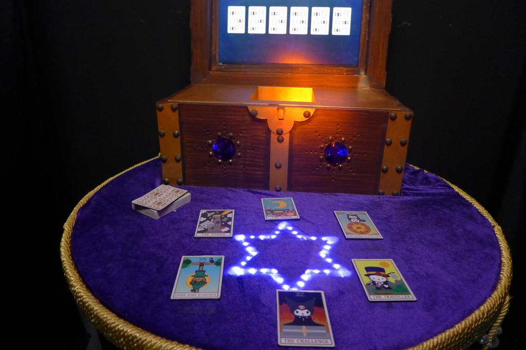 The memory-card game at Kuromi's Tent.