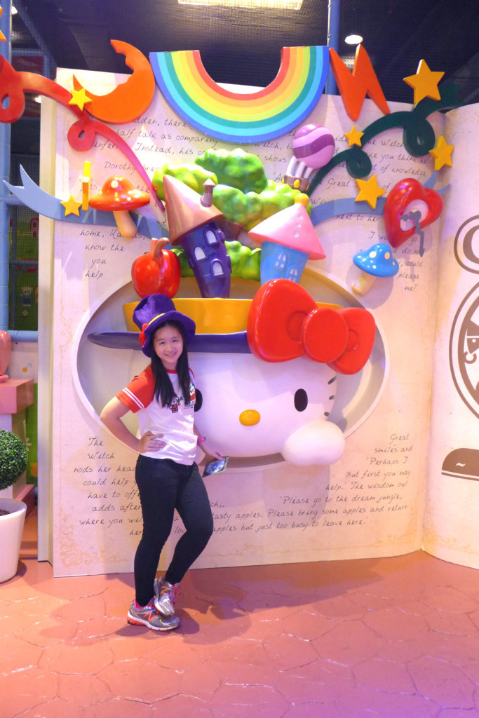 There are plenty of photo opportunities at Hello Kitty in Oz.