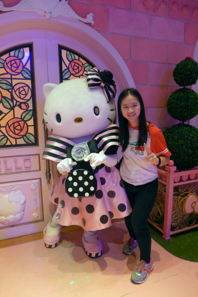 You can also meet & greet characters such as Hello Kitty.