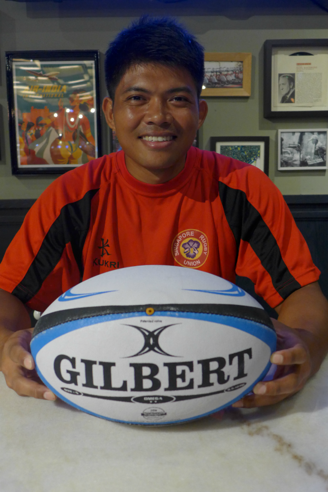 Fahmy feels that rugby is becoming more prominent in Singapore.