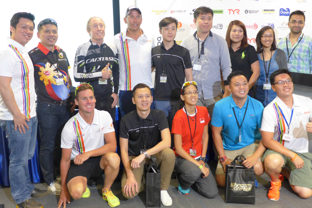 The organisers hope to grow the Asian triathlon scene further.