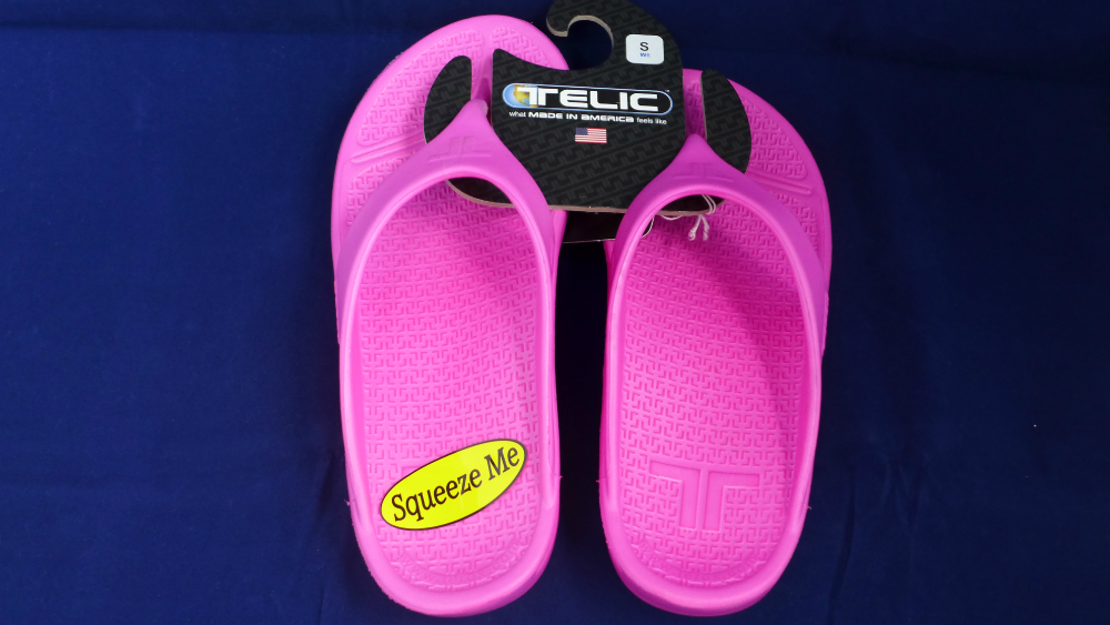 Telic Sandals are billed as providing its wearer with unparalleled comfort.