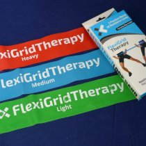 Resistance bands from FlexiGrid Therapy.