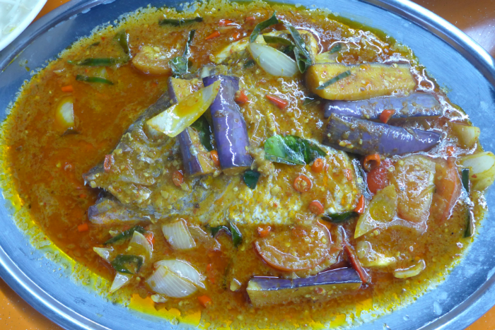 ASSAM CURRY FISH HEAD.