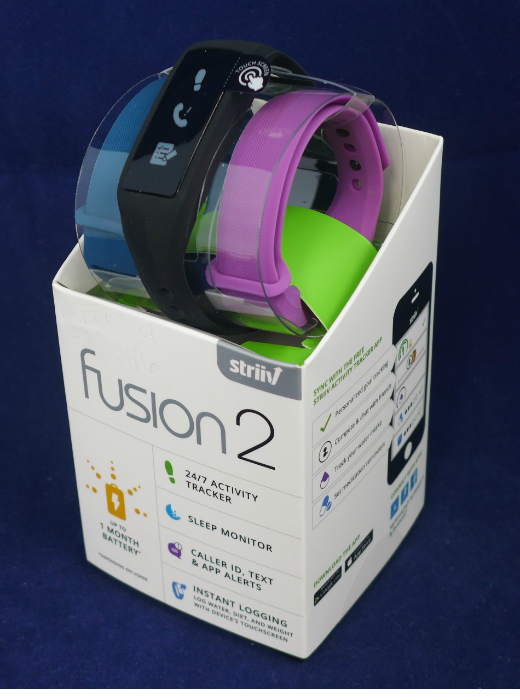 The Fusion 2 is an upgrade from Striiv's ever popular Fusion tracker.