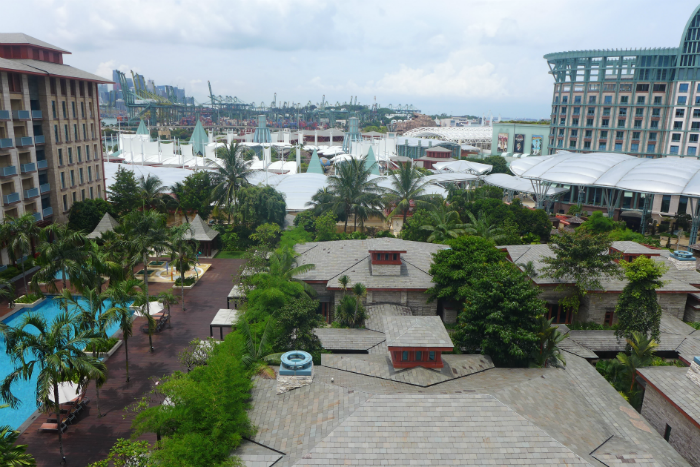 There is a lot of Pokemon to catch at Sentosa.