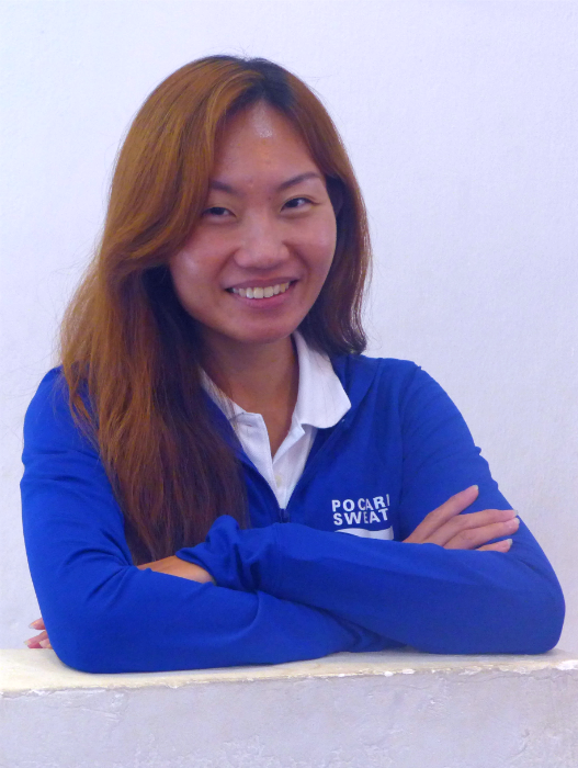 Pocari Sweat ambassador and Olympics marathoner, Neo Jie Shi.