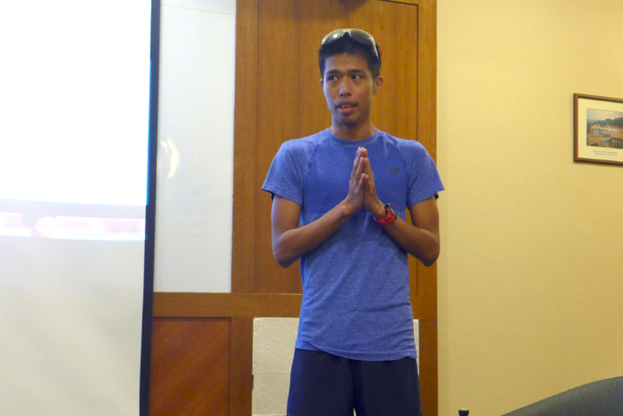 Marcus Ong shared tips about recovery for runners.
