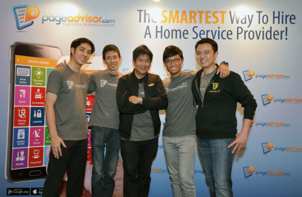 The team behind Page Advisor. Credit: PageAdvisor.com