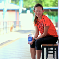 Olympic marathoner Neo Jie Shi is hyped up for Rio. [Photo Credit to Pocari Sweat]