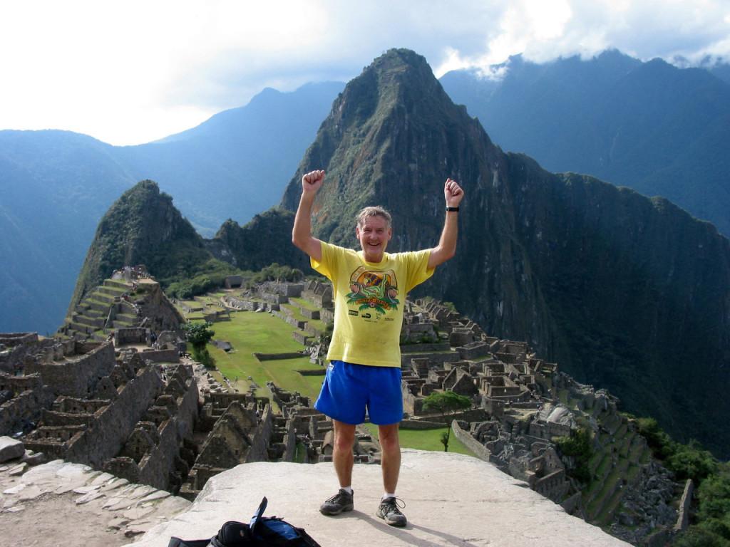 Inca Trail Marathon - Machu Picchu, Peru, 2008. Credit: Maddog.