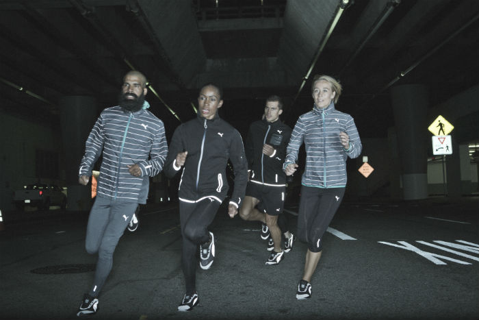 Puma is introducing a new NightCat Powered range of running products. (Credit: PUMA).