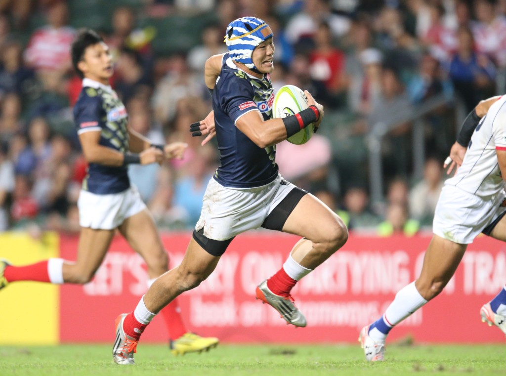 Yoshikazu Fujita will be in the Japan 7s squad for the HSBC World Rugby 7s. [Credit to HSBC World Rugby 7s]
