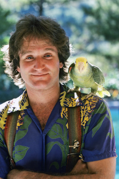 Get an intimate look into the life of this creative genius, Robin Williams. (Image Credit: HISTORY).