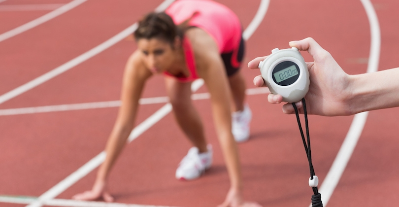 A running coach is much more than simply holding a stopwatch. [Photo source greatist.com]