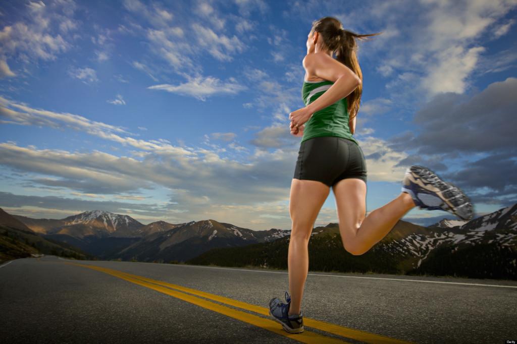 Running offers plenty of health benefits. (Credit: dreamstop.com)