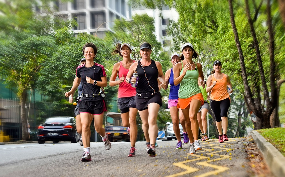 There is a difference between training hard versus training smart. (Photo by www.expatliving.sg)
