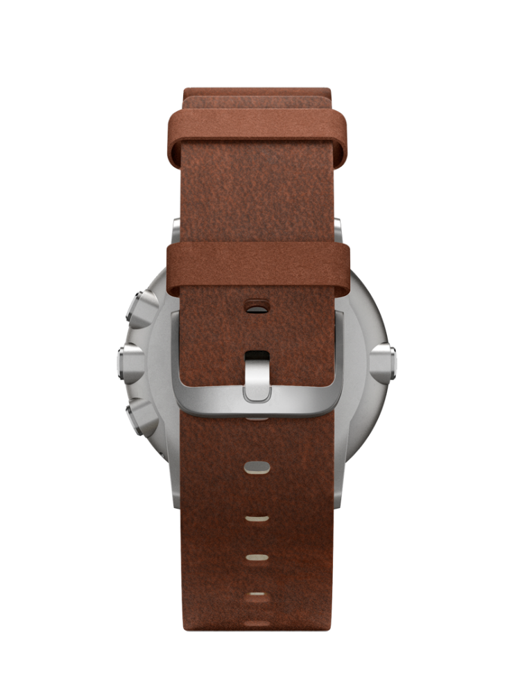 Pebble Time Round is a lightweight and sleek watch.