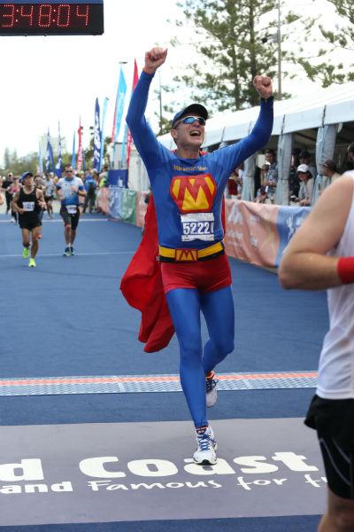 Gold Coast Marathon, July 2013, where Morrow achieved his personal best of 3:46:26. (Image credit: Marathon-Photos.com)