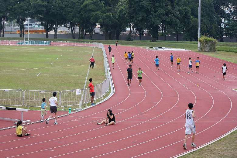 Thursday Coached sessions take place at the Kallang Practise Track.