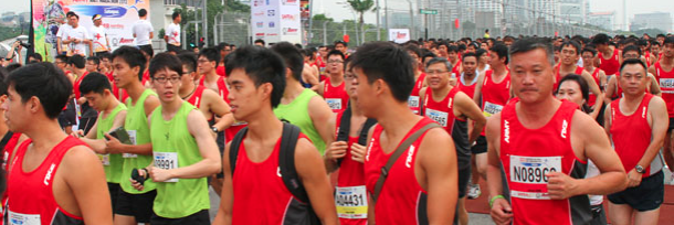 The Safra Bay Run and AHM takes place tomorrow morning. (Image: AHM).