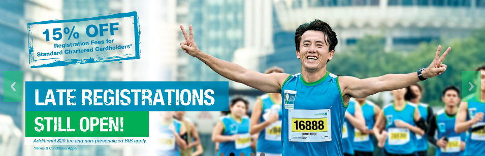 Late registrations are still open for SCMS. (Image: MarathonSingapore.com)