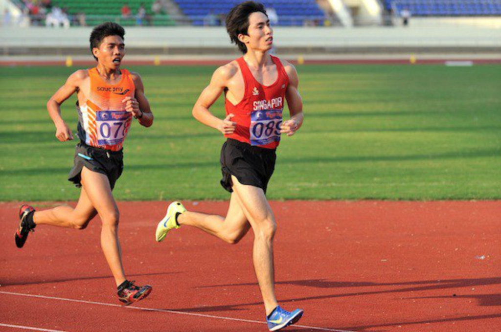 Soh was edged out by the narrowest of margins for the bronze - in the 2012 ASEAN University Games. Photo by: RedSports.