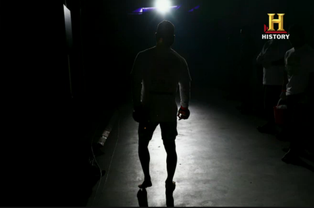 Justin Mott's photo in the ONE FC Challenge. photo by: HISTORY Screen Grab.