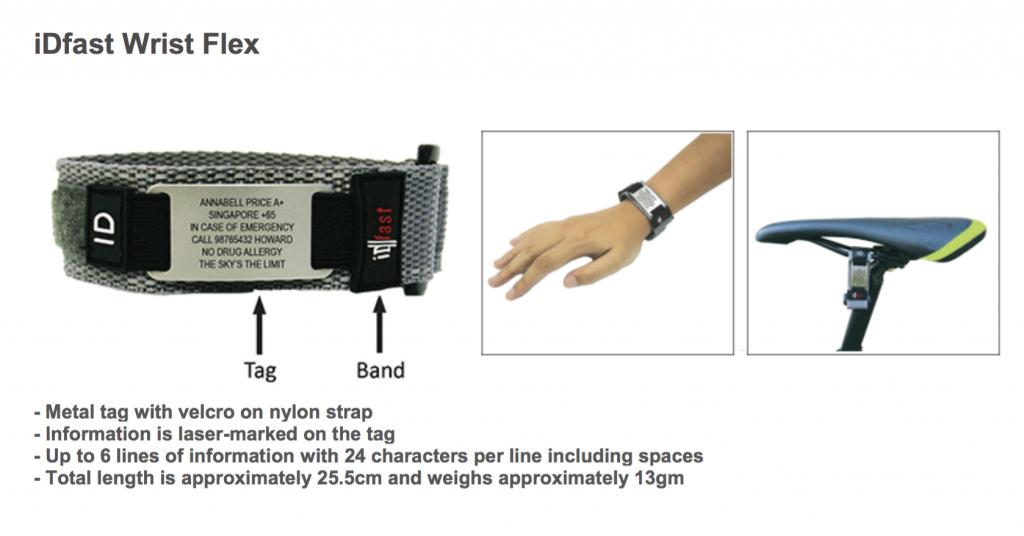 iDfast Wrist Flex.