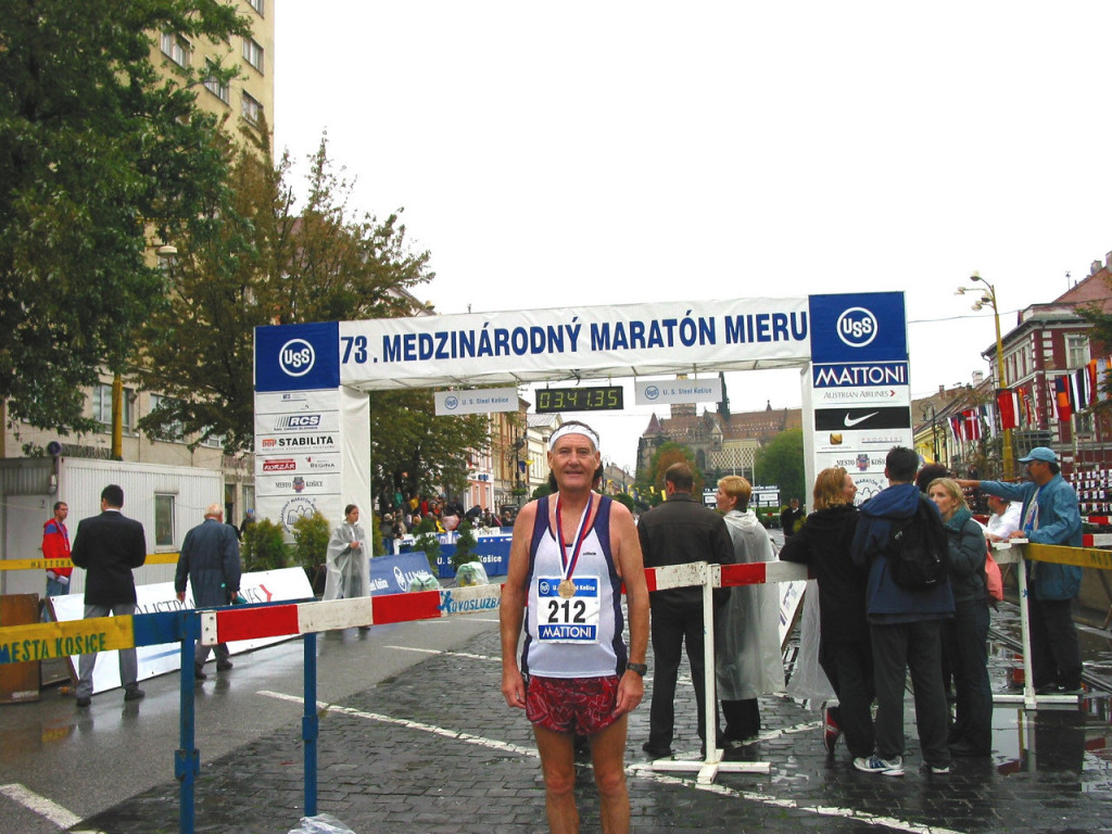 73rd International Peace Marathon - Kosice, Slovakia Credit: Maddog