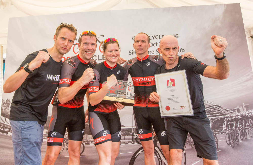 Specialised Mavericks also won the 24 Hours challenge. (Photo Credit: OCBC Cycle)